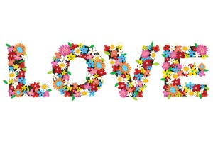 love wallpaper flowers 1080p
