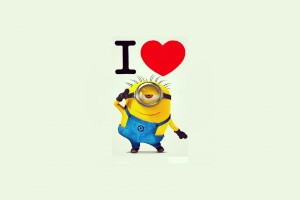 love wallpaper minion