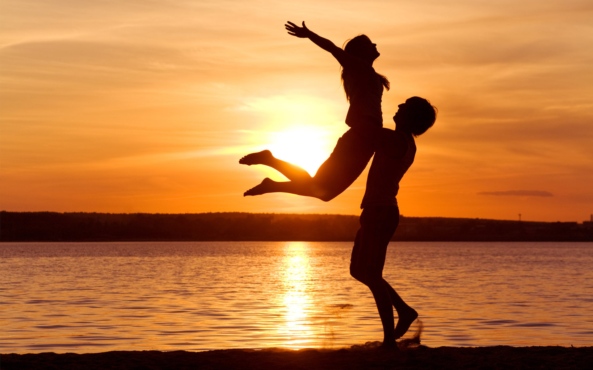 love wallpaper pictures sunset