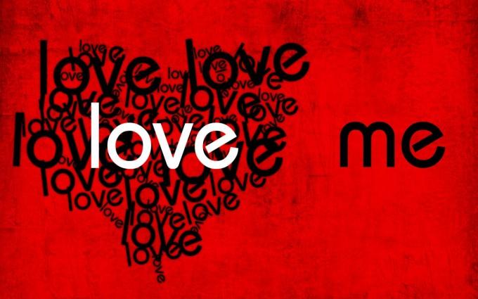 love wallpaper red
