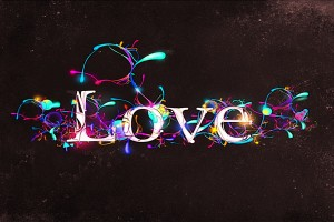 love wallpaper text
