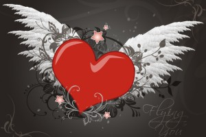 love wallpaper wings