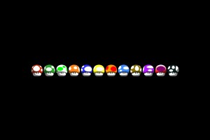 mario wallpaper colorful
