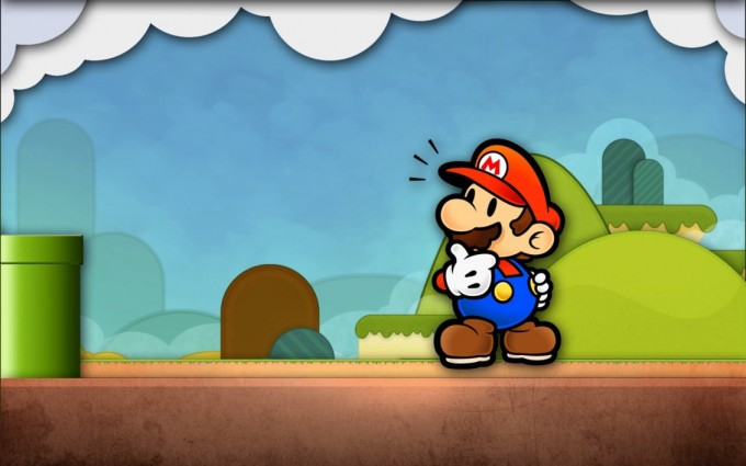 mario wallpaper cool