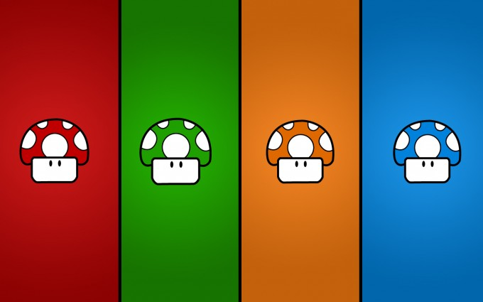 mario wallpaper widescreen