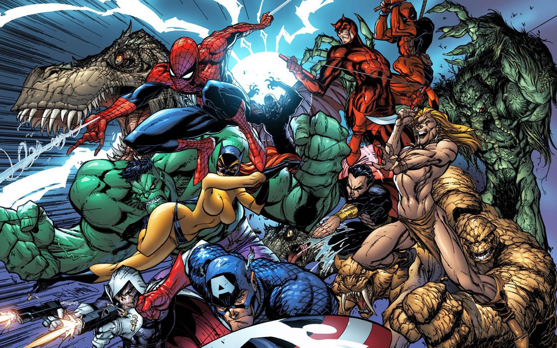 marvel wallpapers heroes