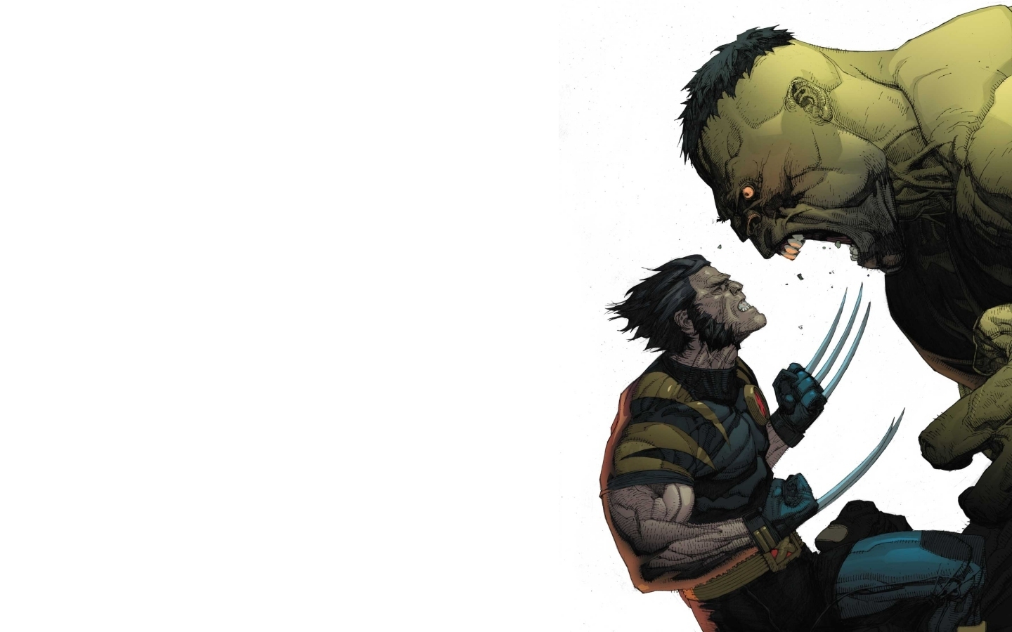 marvel wallpapers hulk wolverine