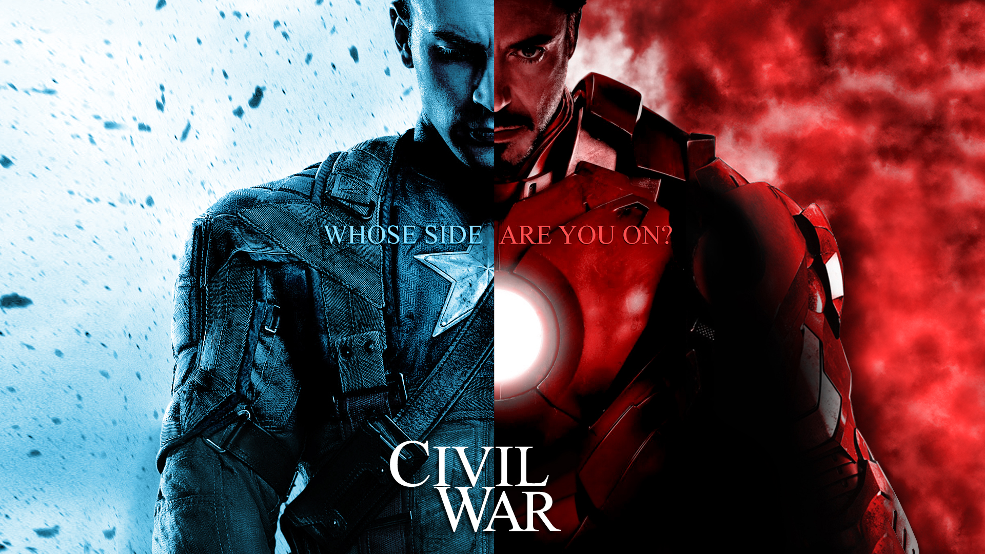 marvel wallpapers iron man captain america