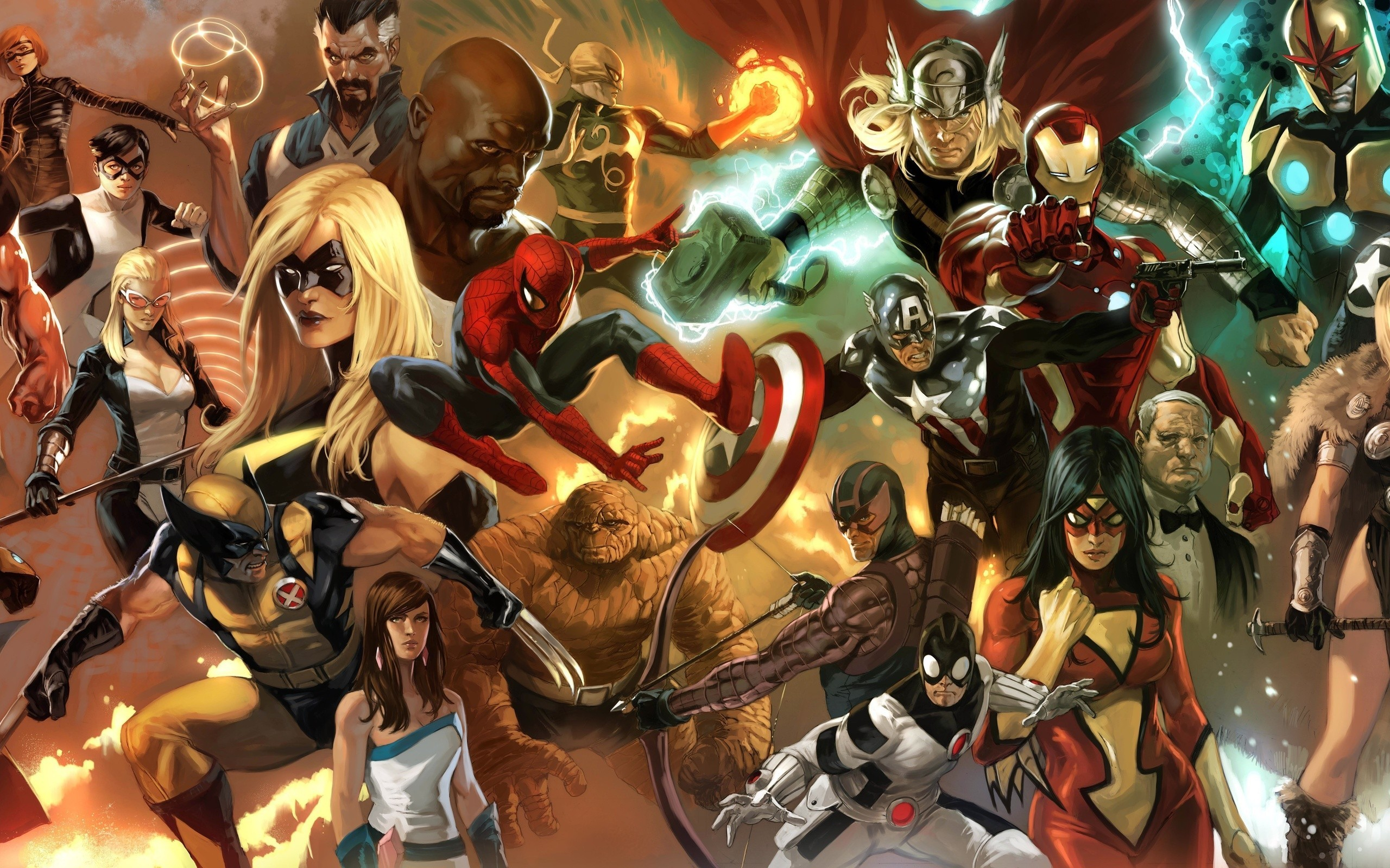 marvel wallpapers screensaver