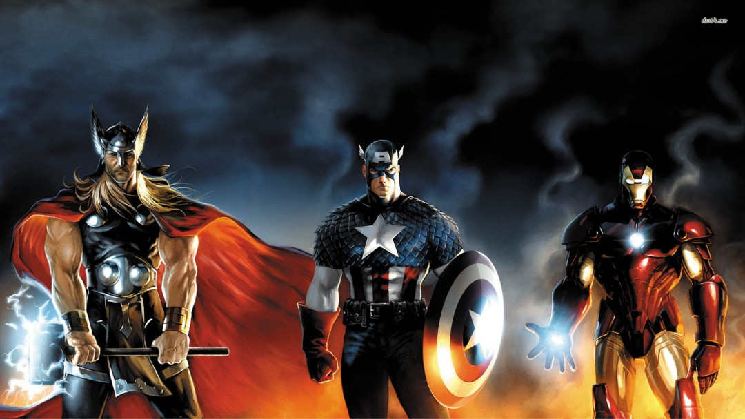 Marvel Wallpapers Thor Captain America Iron Man