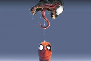 marvel wallpapers venom spider man