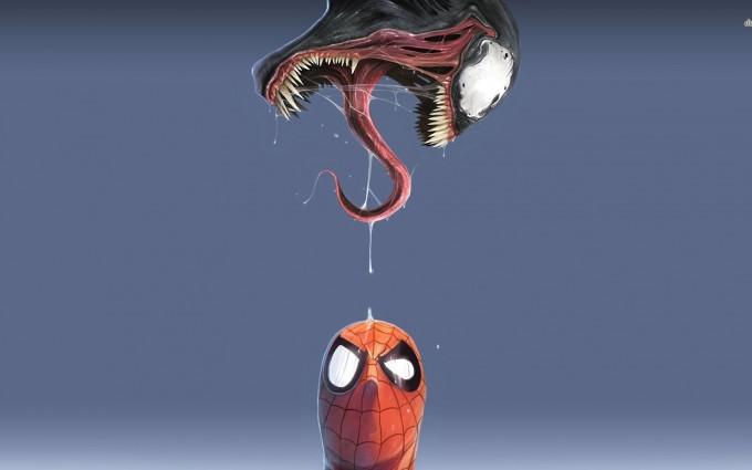 marvel wallpapers venom spider man