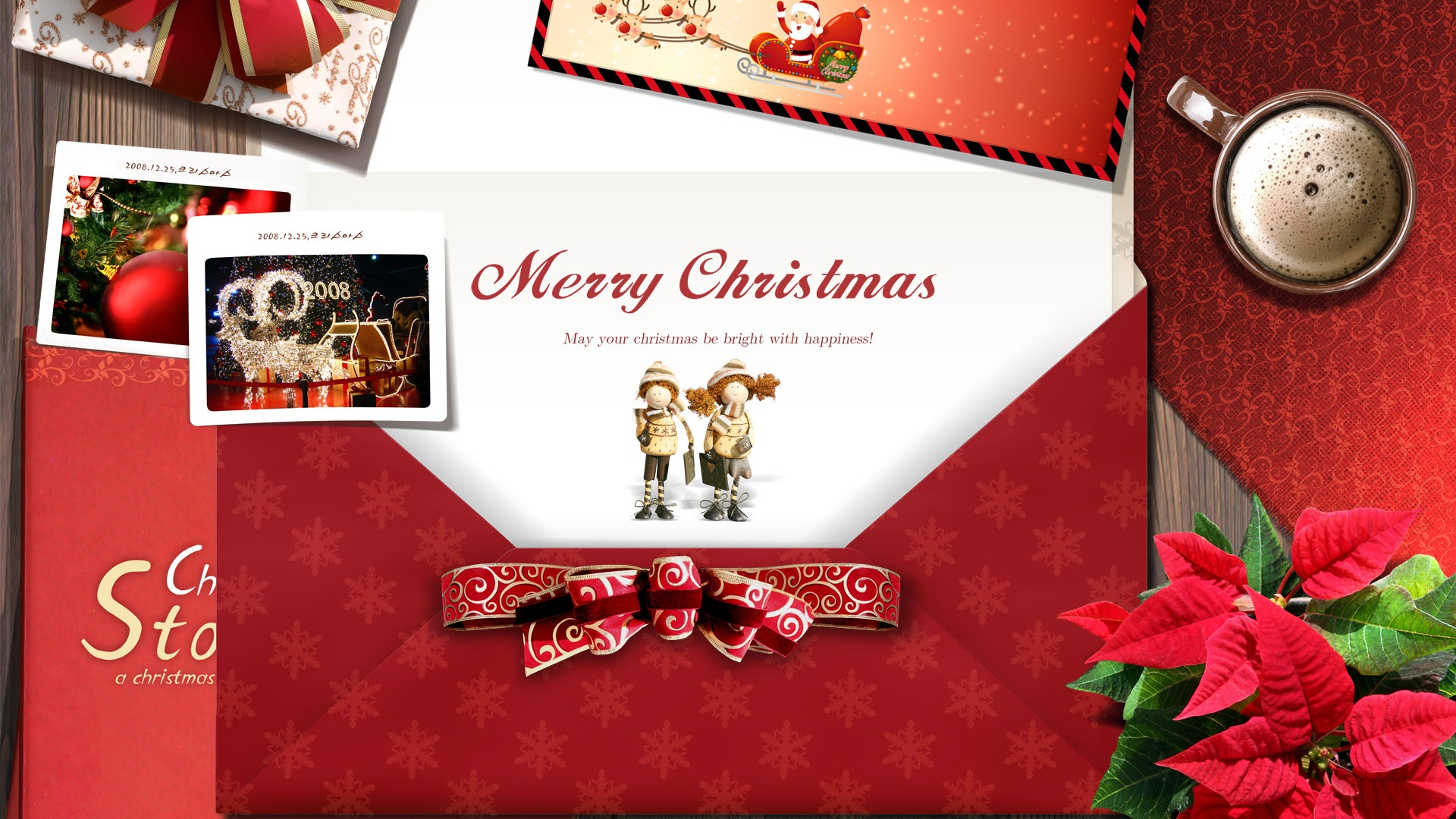 Timeline Christmas Cards
