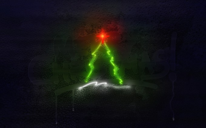 merry christmas wallpapers black