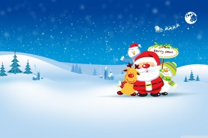 merry christmas wallpapers blue