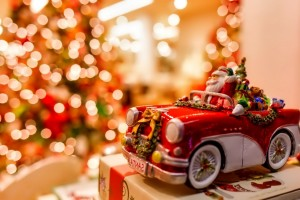 merry christmas wallpapers car
