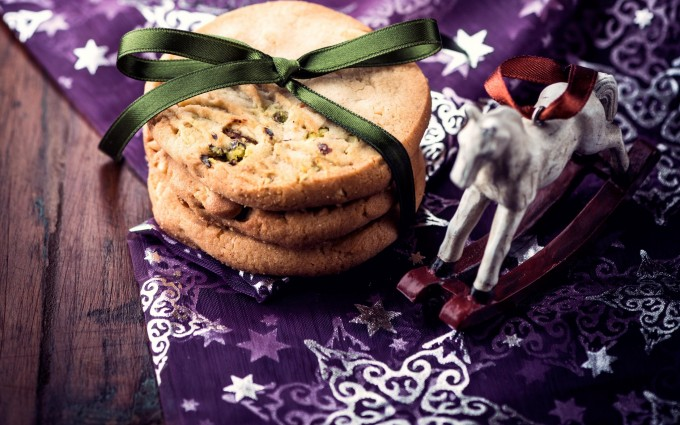 merry christmas wallpapers cookie