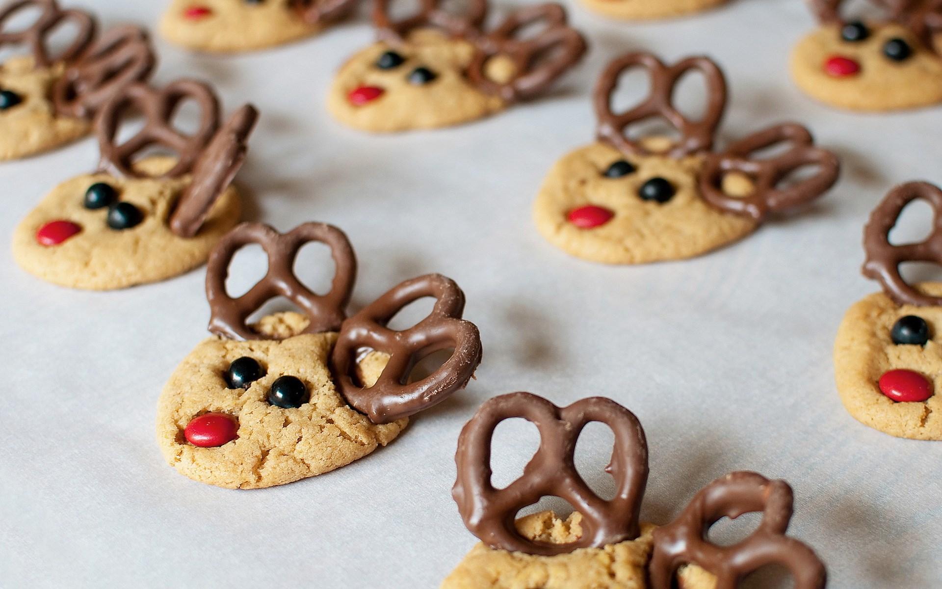 merry christmas wallpapers cookies hd