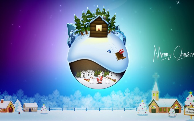 merry christmas wallpapers deco