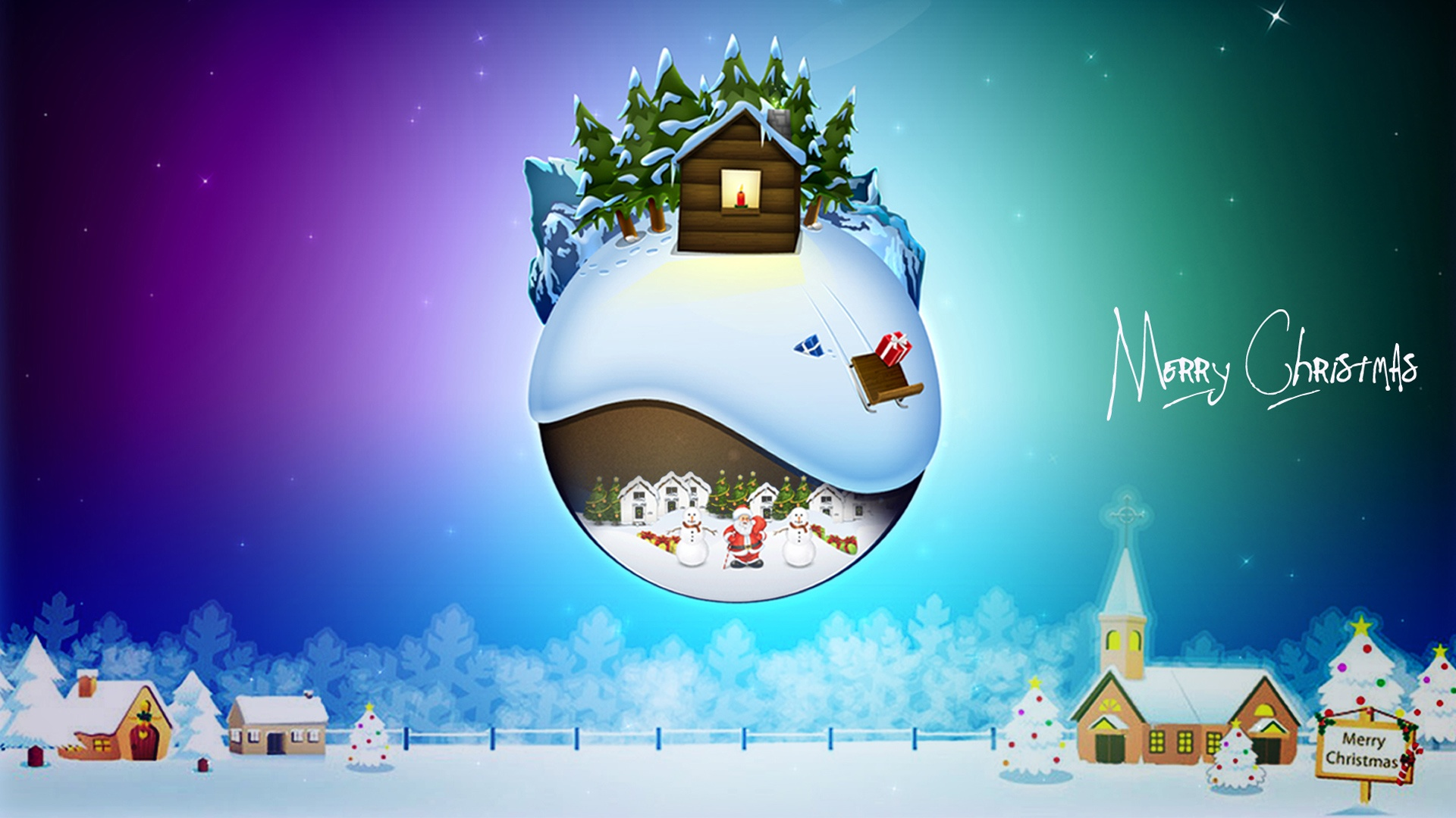 merry christmas wallpapers deco - hd desktop wallpapers | 4k hd