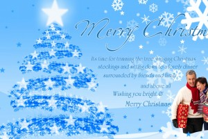 merry christmas wallpapers free blue