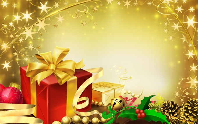 merry christmas wallpapers gifts