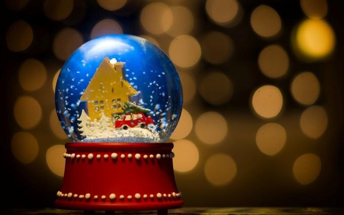 merry christmas wallpapers globe