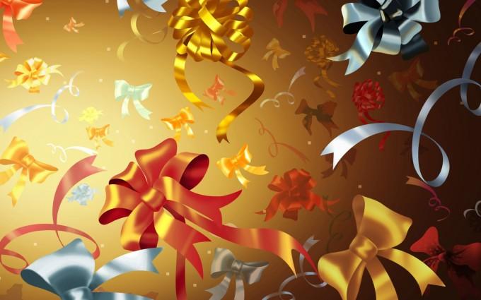 merry christmas wallpapers golden