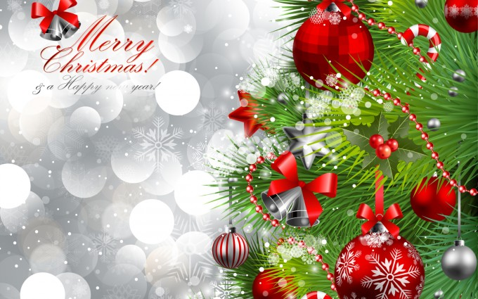 merry christmas wallpapers green