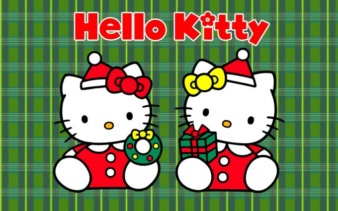 merry christmas wallpapers kitty hd