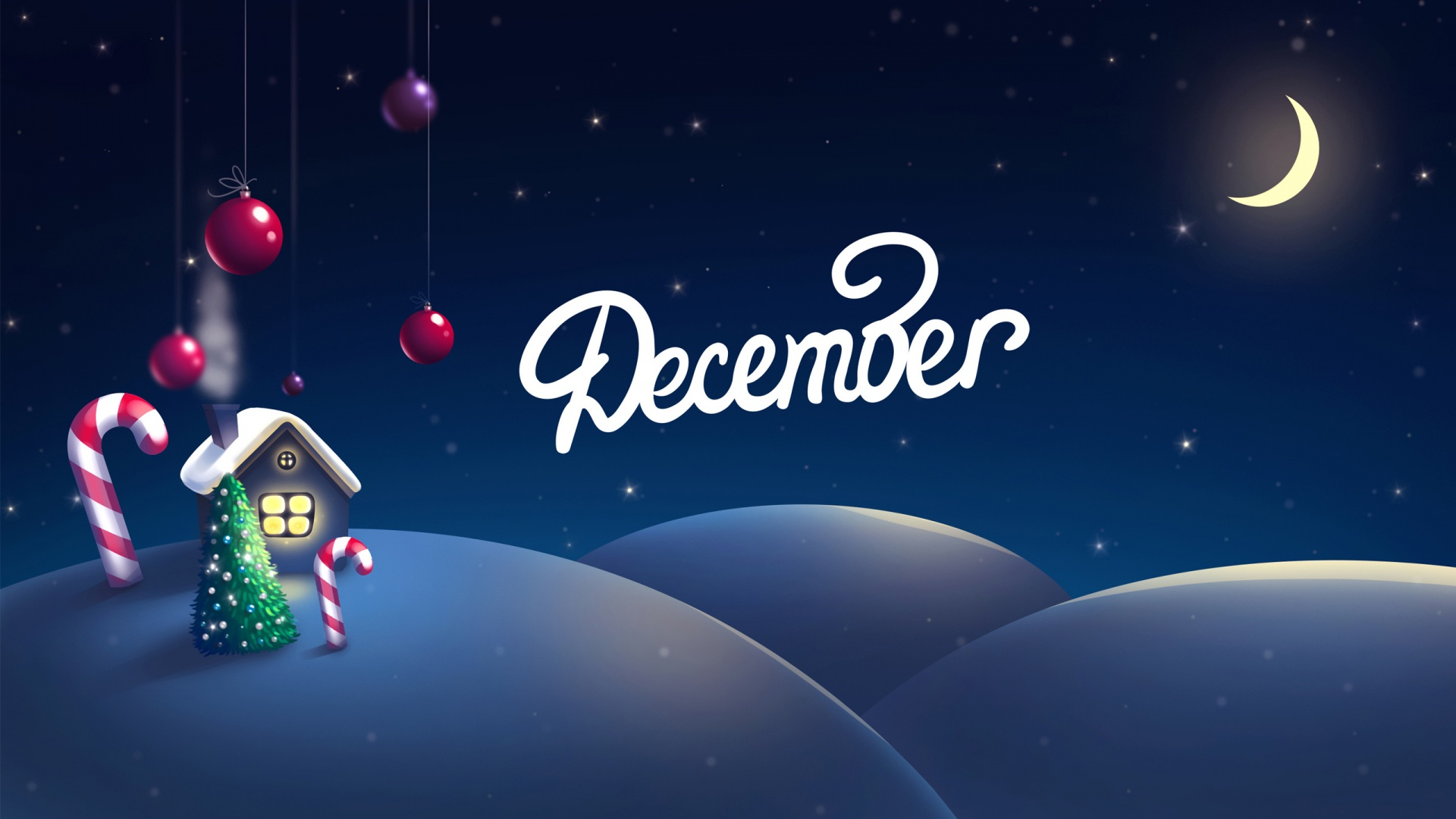 merry christmas wallpapers month