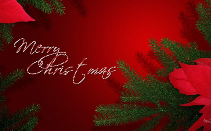 merry christmas wallpapers red hd