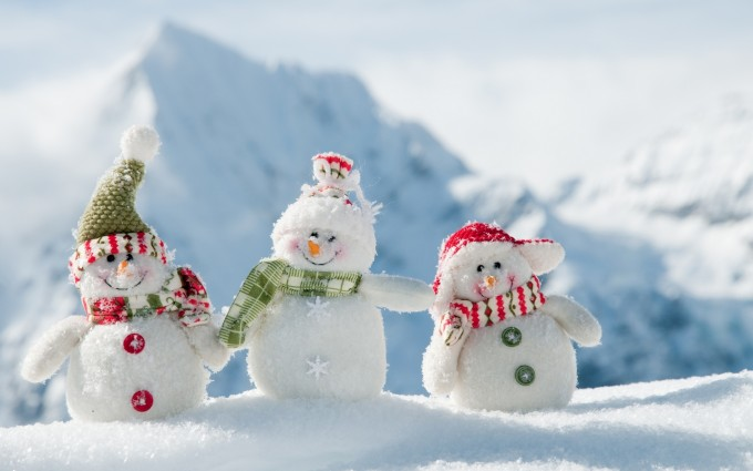 merry christmas wallpapers snowman A2