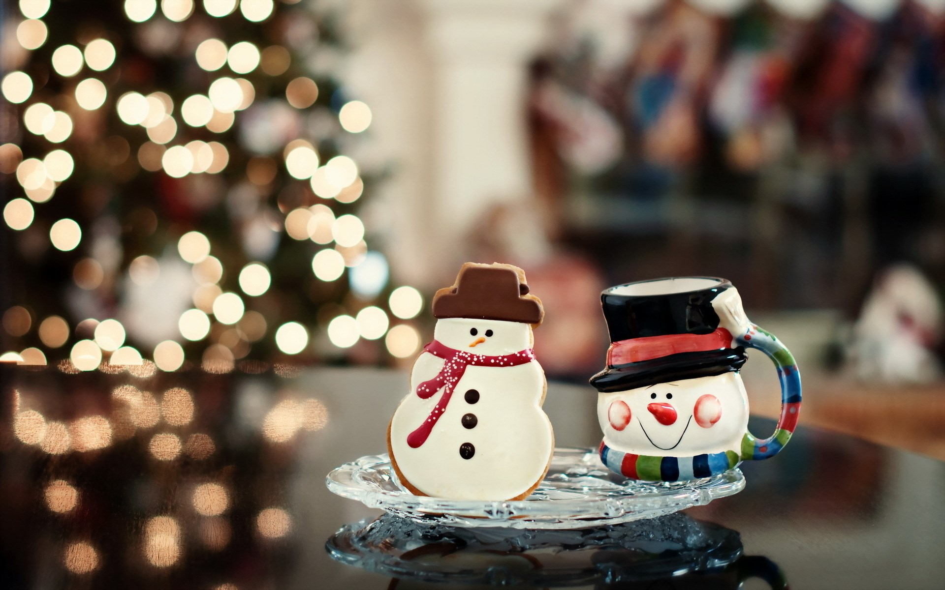 merry christmas wallpapers snowman