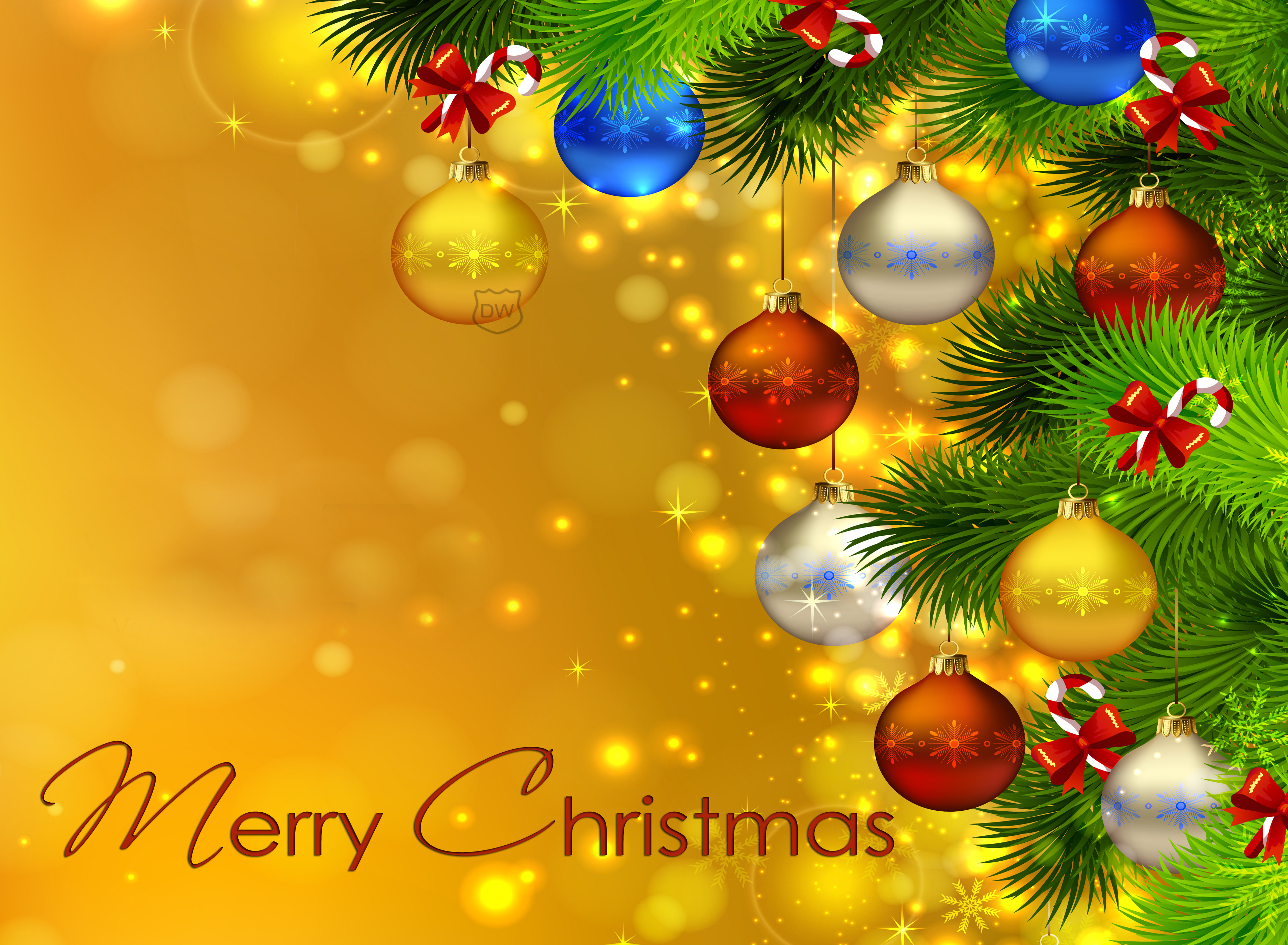 merry christmas wallpapers yellow - hd desktop wallpapers | 4k hd
