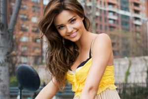 miranda kerr wallpaper cute yellow