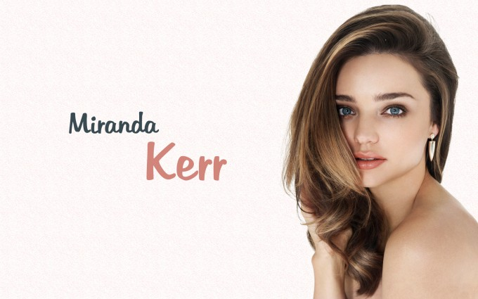 miranda kerr wallpaper fonts