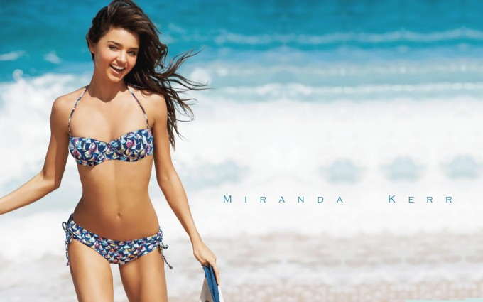 miranda kerr wallpaper hot bikini