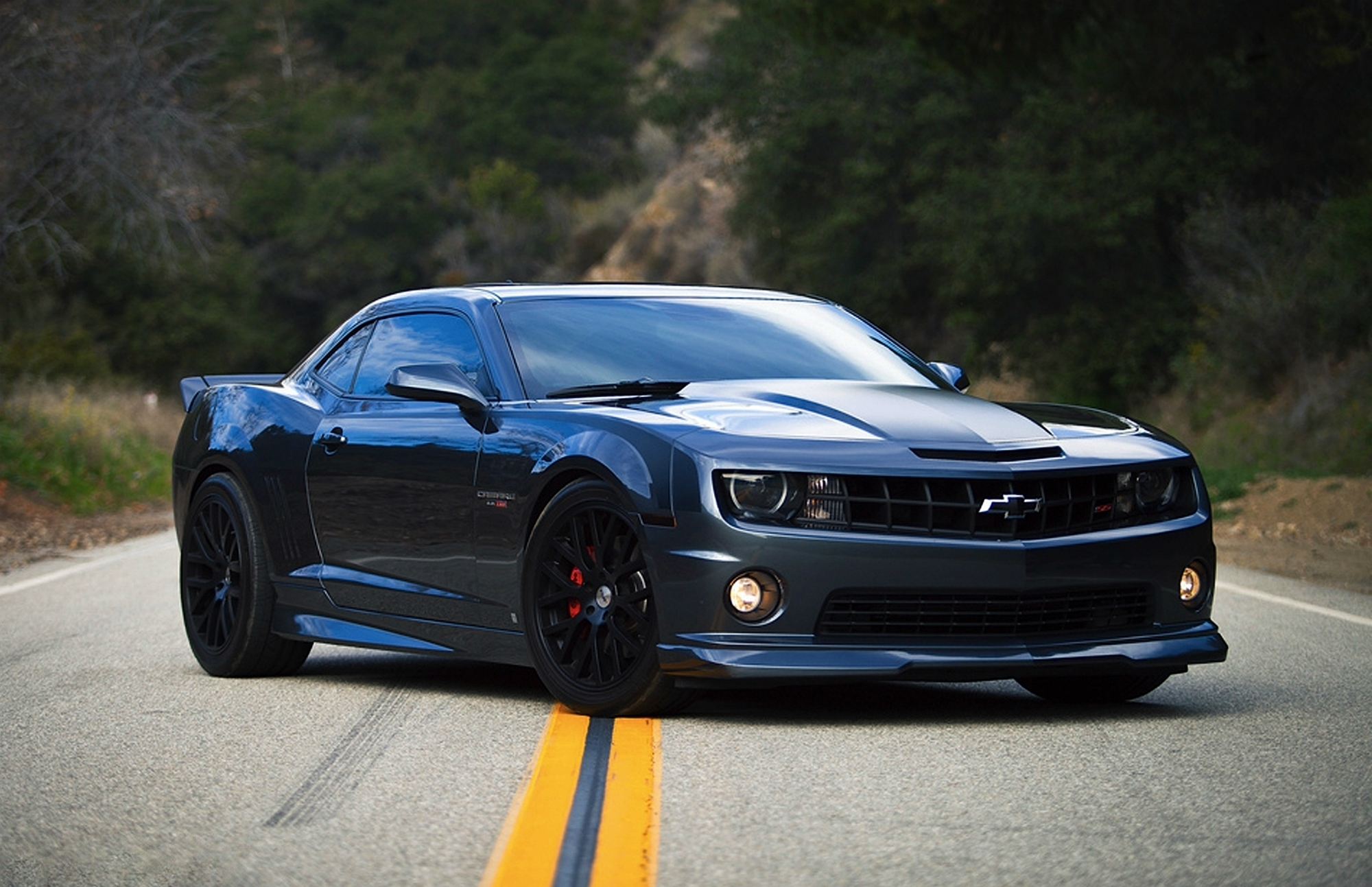 muscle car wallpaper black