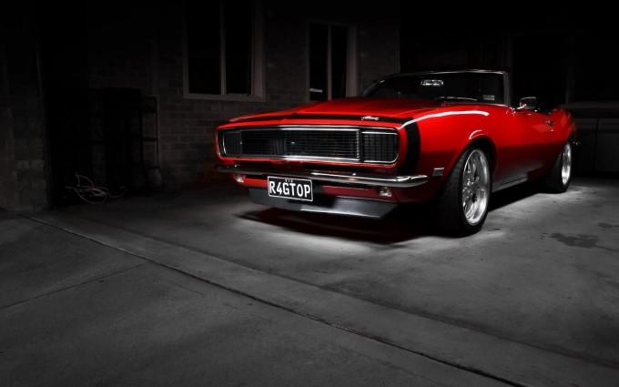 muscle car wallpaper dark