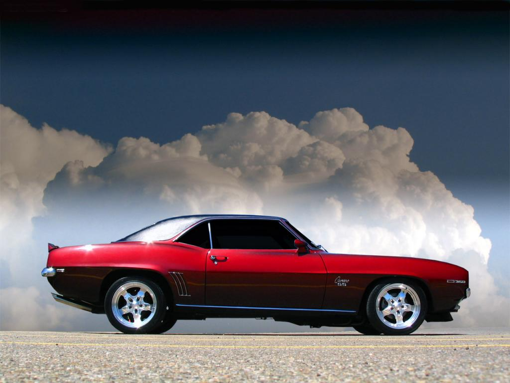 muscle car wallpaper road