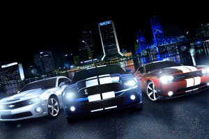 muscle car wallpaper streets