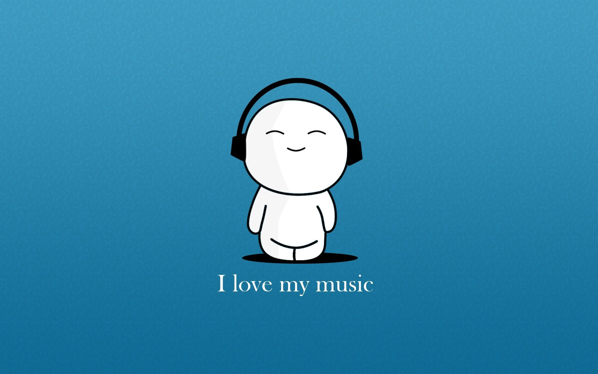 music wallpaper blue cartoon