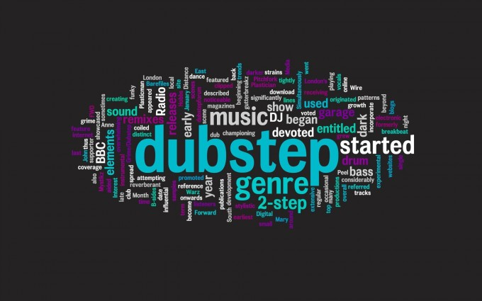 music wallpaper dupstep