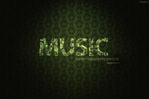 music wallpaper light green