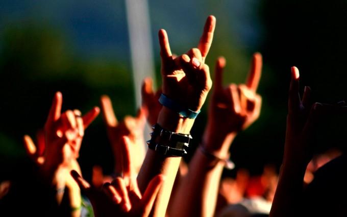 music wallpaper rock