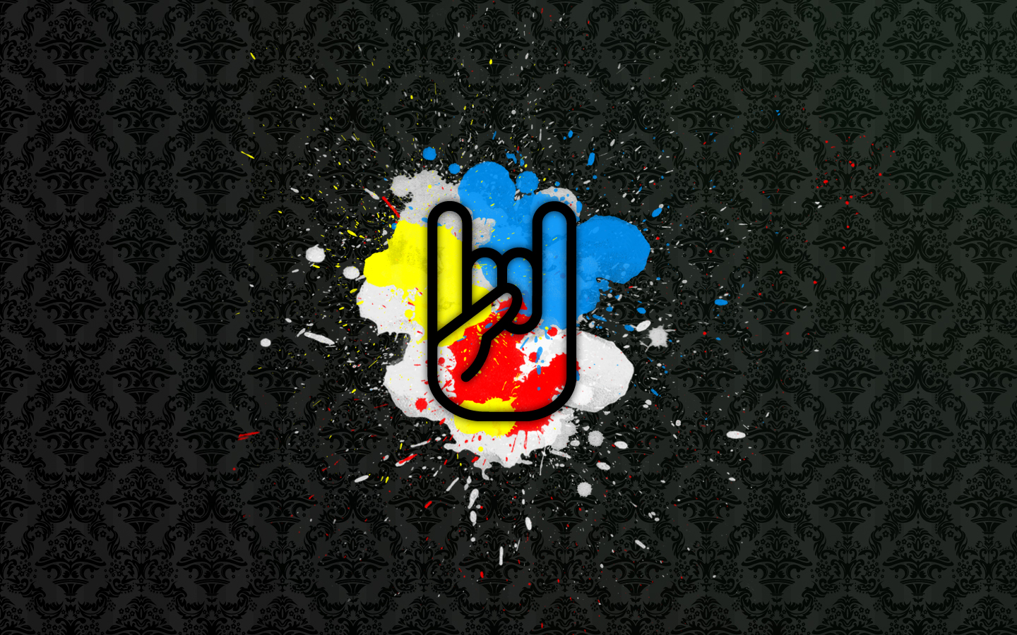 music wallpaper rock symbol