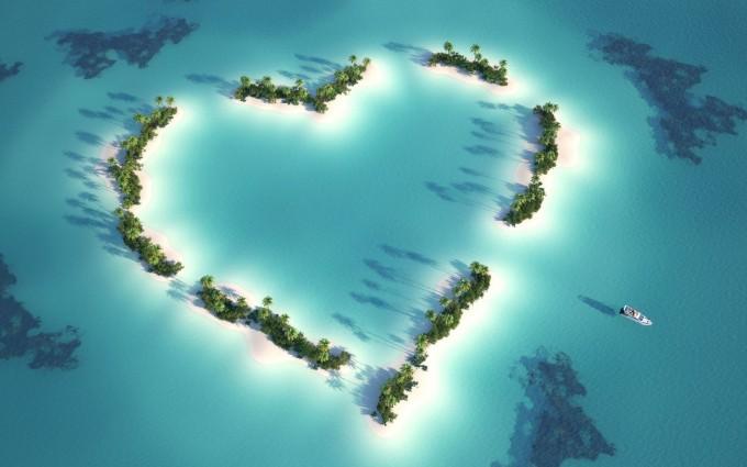ocean wallpaper beautiful heart