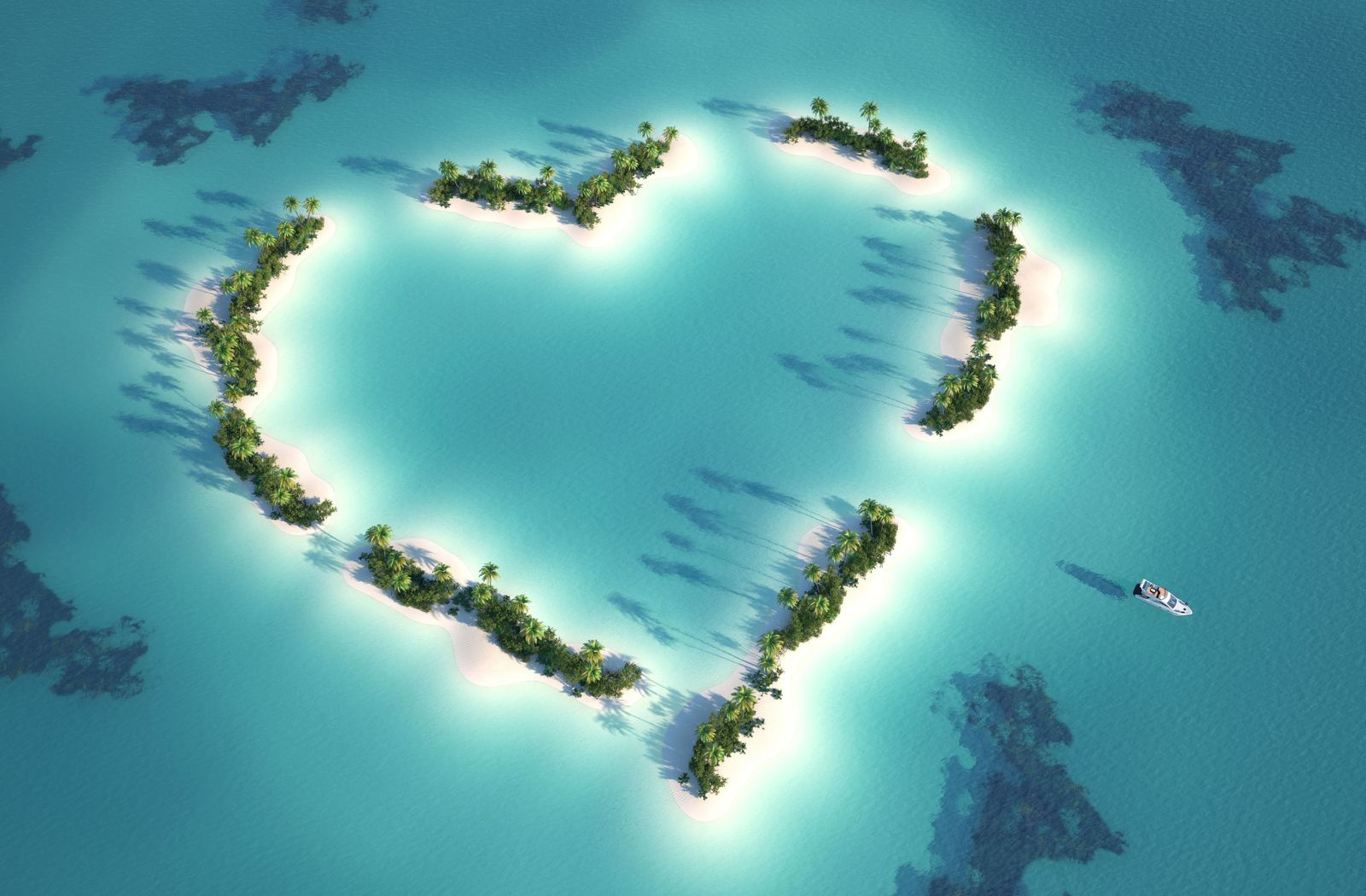 ocean wallpaper beautiful heart