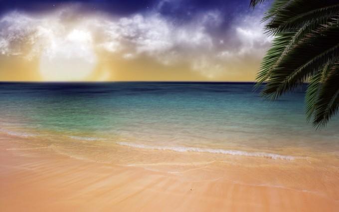 ocean wallpaper simple
